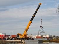hijswerk beton casco Waterwoning