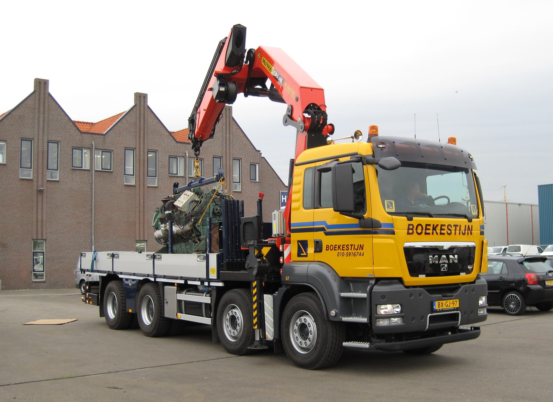 44 Ton/meter autolaadkraan