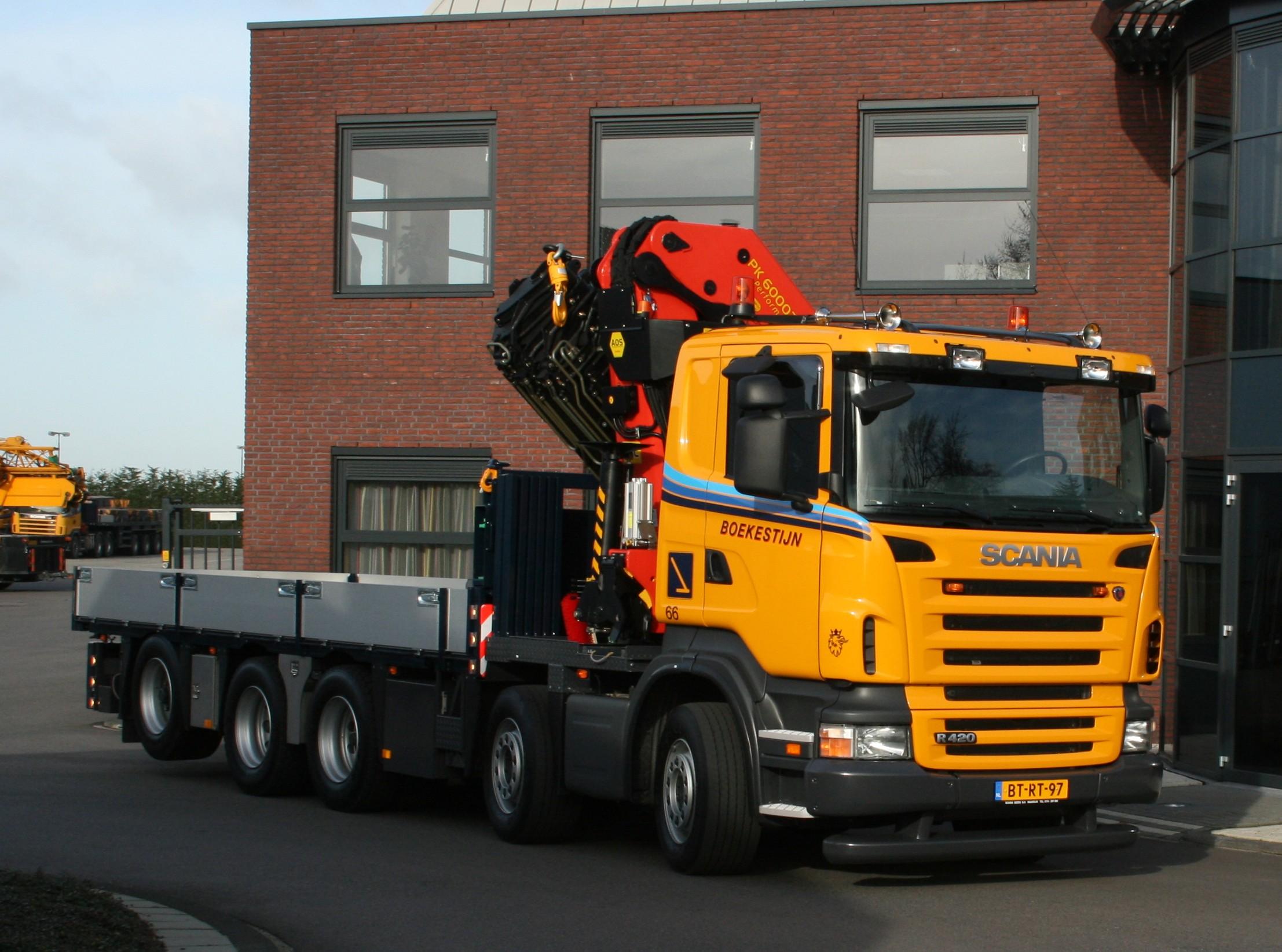 60 Ton/meter autolaadkraan