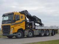85 Ton/meter autolaadkraan (inclusief fly-jib)