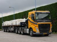 50 Ton/meter autolaadkraan (trekker-opleggercombinatie)